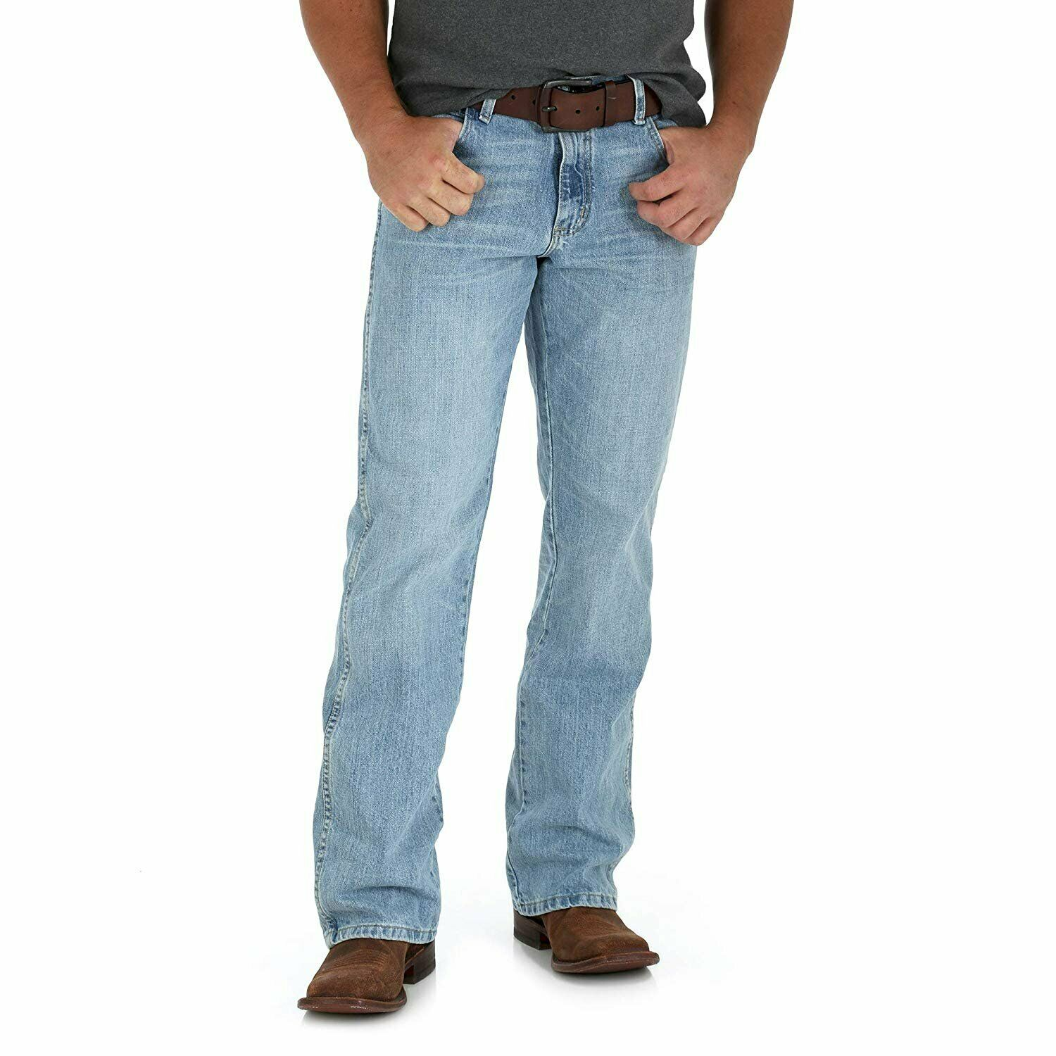 e470efe0 Crest Wrangler Men's Retro Relaxed-Fit Bootcut Jean - WRT20CR nqilps636- Jeans
