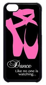 Ballerina-Ballet-Dancer-Shoes-Black-Case-Cover-for-iPhone-4-4s-5-5s-5c-6-6-plus