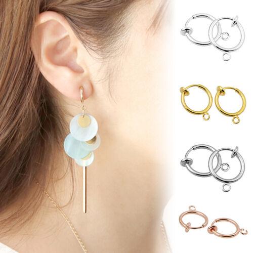 Retractable Earrings-No Need Piercing with Hanging Loop