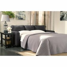 Ashley 2710339 Zeth Basil Finish Fabric Upholstery Queen Sofa