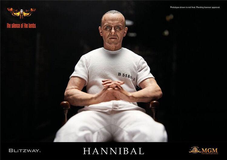 BLITZway När lamm tystnar 1991 Hannibal Lecter -fängelset Enhet VER 1  6 Figur