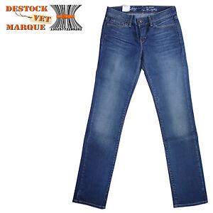 footwear sale well known Détails sur LEVI'S 570 Jeans regular femme coupe droite taille W27 L32