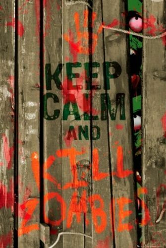 FANTASY POSTER Keep Calm and Kill Zombies