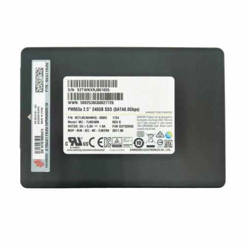 Samsung 480GB 240GB Serial ATA III Solid State Drive 2.5/'/' SSD PM863a 6Gb//s TLC