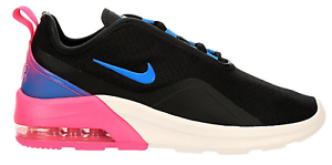 NIKE-womens-AIR-MAX-MOTION-2-SHOES-SIZE-7-5-NEW-CN2166-001-BLACK-WHITE-PINK