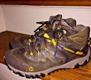 cheaper sale hot-selling newest official price Details about MERRELL VIBRAM PERFORMANCE Reflector UNIFLY DRY MENS HIKING  BOOTS SHOES SIZE 8.5