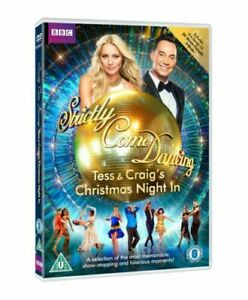 Strictly-Come-Dancing-Tess-and-Craig-039-s-Christmas-Night-In-DVD-Brand-New-Sealed