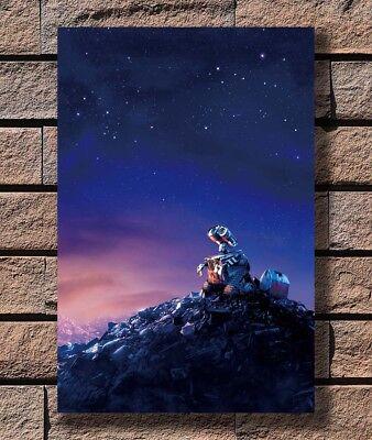 Art Print wall e 2008 Poster Fabric 8x12 20x30 24x36 E-2497