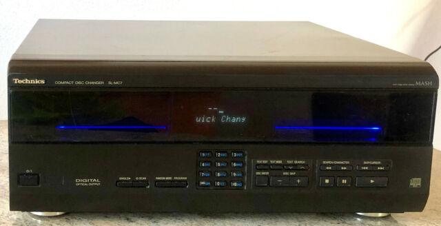 TECHNICS SL-MC7 Compact Disc Changer 110 fach CD-Wechsler mit CD Text,CD Program