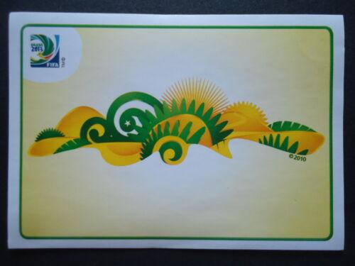 Panini 3 Logo Emblem Confed Cup 2013 Brasilien