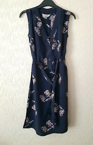Tucker-Imprime-100-soie-robe-femme-taille-XS-etat-utilise