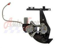 Honda Civic Rear Left Power Window Regulator With Motor