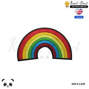 Rainbow-Disney-LGBT-Embroidered-Iron-On-Sew-On-Patch-Badge-For-Clothes-etc