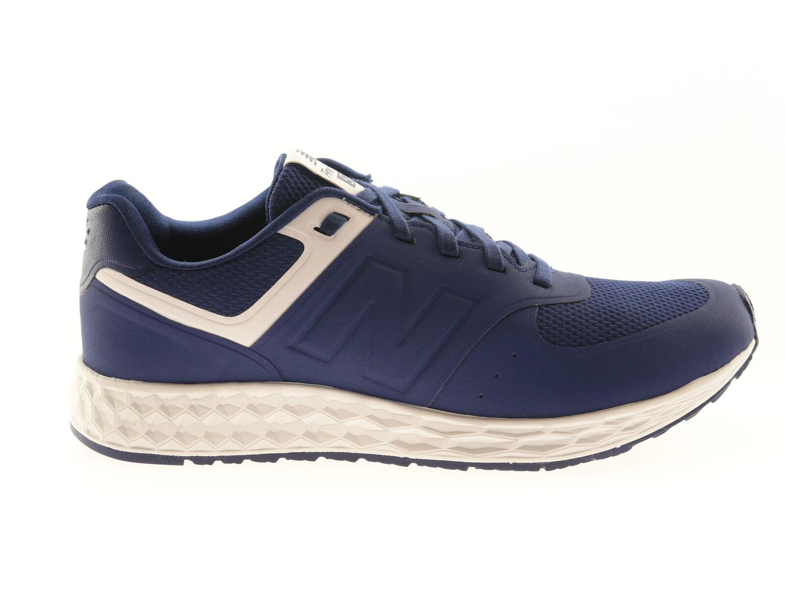 New Balance WFL574BW Unisex-Turnschuhe Textil Sportschuhe Blau Laufschuhe