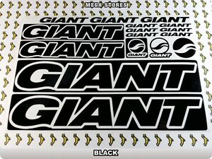 GIANT Stickers Decals Bicycles Bikes Cycles Frames Forks Mountain MTB BMX 59BB