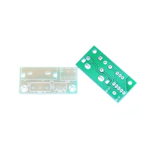 1PCS DIY Kit Audio Switch Board RCA 3.5mm Audio Input Block Stable L9