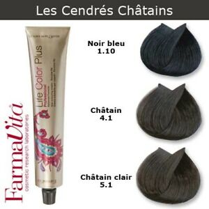 Coloration chatain clair cendre l'oreal
