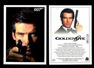 James Bond Archives 2015 Goldeneye Chase Card #38