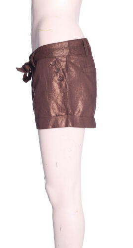 Pantaloncini nuova linea Donna con Cintura Moda Donna Estate SMART Roll Up Hot Pants Taglia 8-16