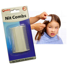 NIT COMB BABY KID ADULT HAIR SCALP HEAD LICE EGGS CAT DOG PET BRUSH INSECT FLEAS