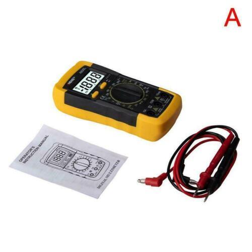 1X A830L LCD Handheld Digital Multimeter AC//DC Voltage Tester Meter Current U9S1