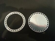Die Cutter DECORATIVE HEARTS CIRCLE  fits Sizzix Big Shot Cuttlebug with adaptor