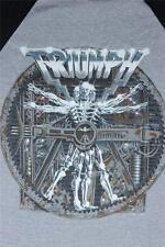 80s Vintage Triumph Thunder World Tour 1985 Concert Tee T Shirt Size M medium