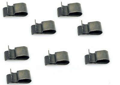 BMW E21 E30 318i 320i 325i 325es M3 Front Grille Retaining Clips Set of 8 OEM