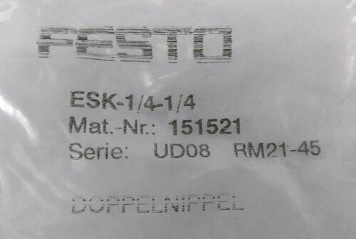 Doppelnippel Festo ESK-1//4-1//4 151521