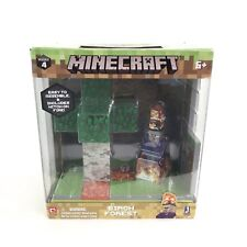 Minecraft Birch Forest Biome Playset Series 4