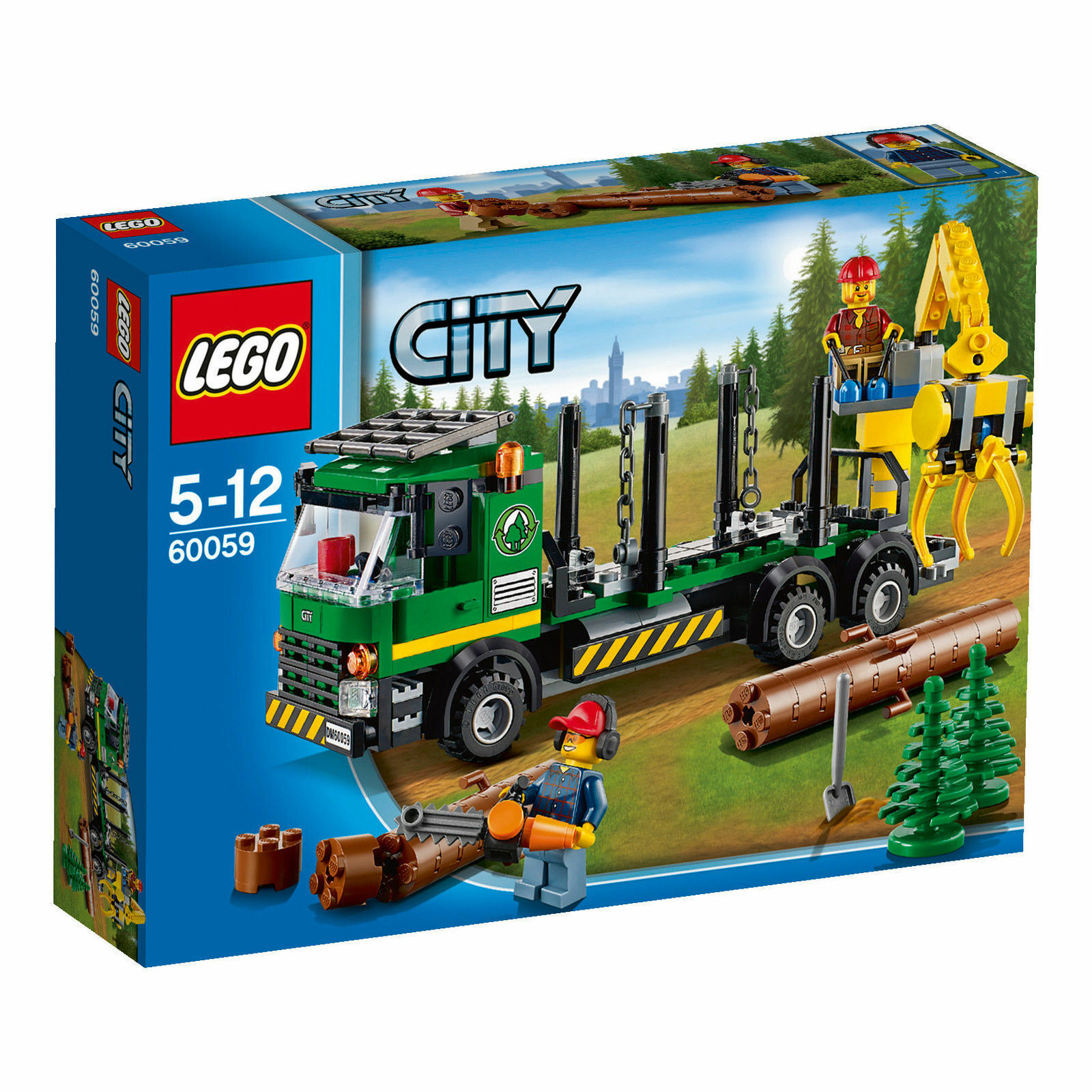 LEGO® City 60059 Holztransporter, neu