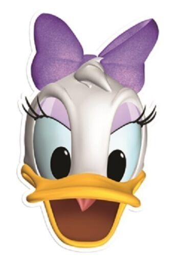 Ideal Para Fiestas Infantiles Pata Daisy Disney único 2D Tarjeta divertido Mascarilla Facial