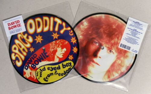 "1 of 1 - DAVID BOWIE * SPACE ODDITY * 40TH ANNIVERSARY LIMITED ED 7"" PICTURE DISC * BN!"