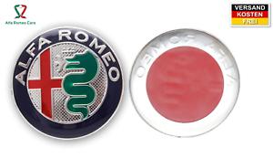 Arrière 1 SCUDETTO BADGE écusson alu Autocollant Alfa Romeo Emblème Logo Avant O