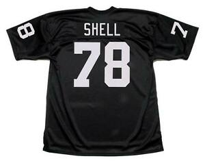 Details about ART SHELL Oakland Raiders 1976 Throwback NFL Football Jersey