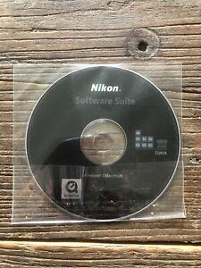 Nikon software Suite CD-Rom DW 04 For Windows / Mac for D700,300,D2X, D2H, D3