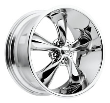 New Listing5x1143 4 Wheels 18 Inch Rims Foose 1pc F105 Legend 18x8 1mm Chrome Plated Fits Camry