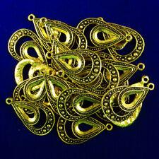 10Pcs 18g Carved Tibetan Silver Witch Pendant Bead 25x19x4mm 1442PJ