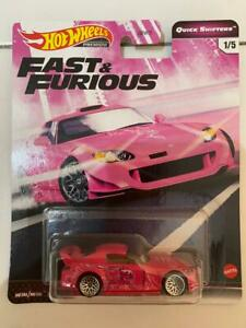 HOT WHEELS 2020 FAST /& FURIOUS QUICK SHIFTERS SET OF 5 CAR CASE J IN STOCK