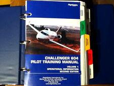 Challenger CL-604 Pilot Training Manual Vol. 1 Operational Info