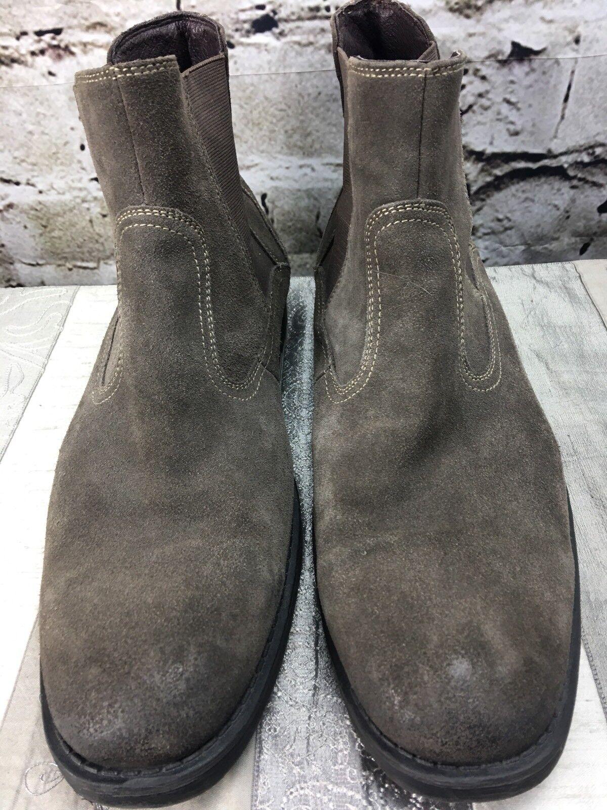 J Murphy Men Pull On Brown Boots Sz 13 M