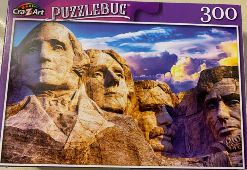 Mount Rushmore National Monument 300 Piece Cra.Z.Art Puzzlebug  Puzzle SD