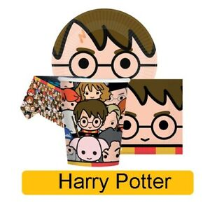 HARRY-POTTER-Birthday-Party-Range-Tableware-Supplies-Decorations-Amscan