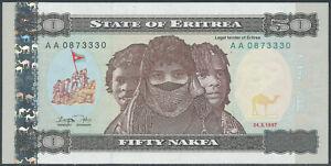 Eritrea-05-50-NAKFA-1997-UNC-Pick-5