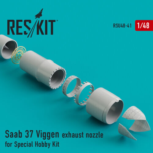 Saab 37 Viggen exhaust nozzle for Special Hobby Kit 1//48 ResKit RSU48-0041