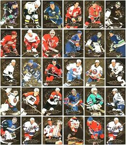 1995-96 ULTRA GOLD MEDALLION INSERT CARDS - PICK SINGLES - FINISH YOUR SET LOT