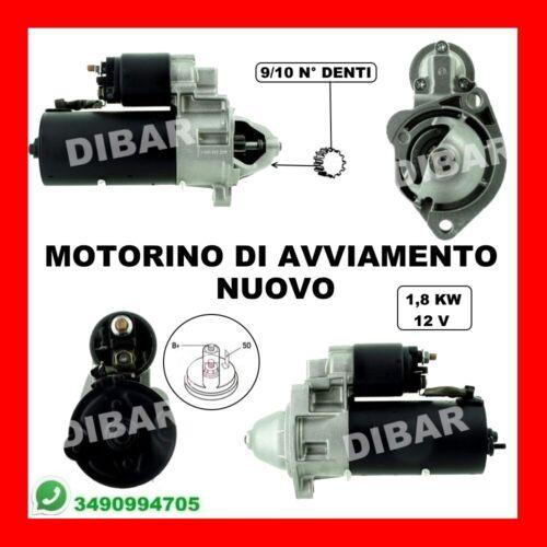 MOTORINO AVVIAMENTO NUOVO AUDI A4-A6-CABRIO 1.8-1.9-2.0-2.5-3.0 T-TDI DAL 1995 1