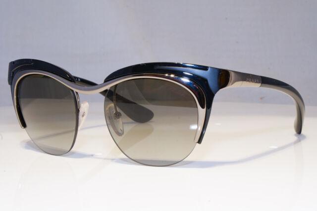 055fc758e86f PRADA Mens DESIGNER Sunglasses Black Rectangle Spr 55h 5av-3m1 15794 for  sale | eBay