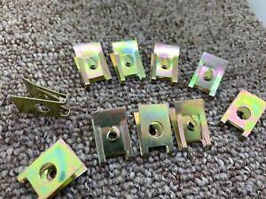 JAGUAR Metal splash guard interior molding trim fastening rivet clips