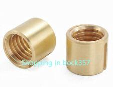 2pc Bridgeport Milling Machine Part X Axis Rod Axis Longitudinal Feed Copper Nut